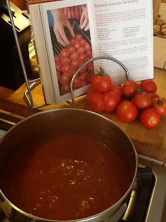 French Village Diaries recipes potager roasted tomato ketchup