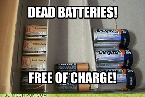 photo of dead batteries...free of charge