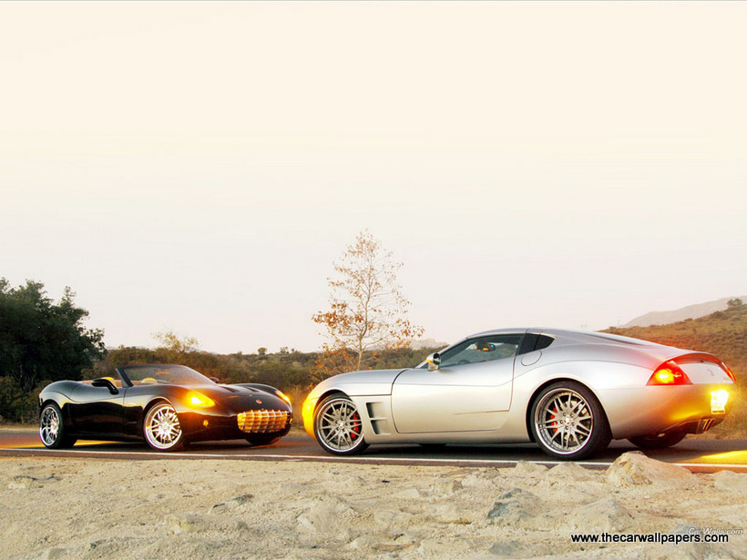 Anteros Coupe and Anteros Roadster