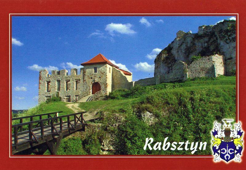 Zamek Rabsztyn - pocztówka