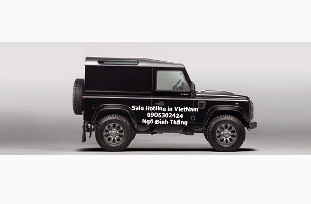 Land Rover Defender LXV-Celebrating 65 Years of Land Rover