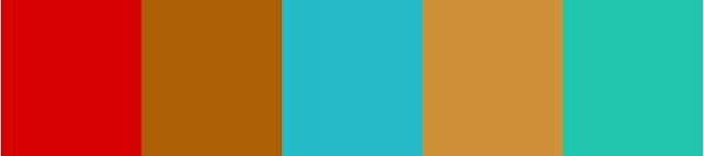 Saloon Color Palette