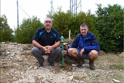 Hornillo mendiaren gailurra 996 m.  --  2013ko irailaren 28an