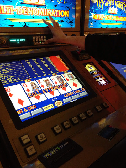 Royal Flush Video Poker Win