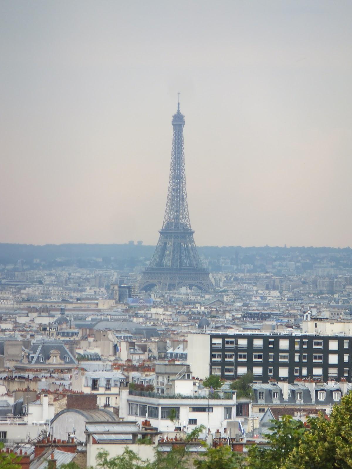 Tour Eiffel, Parque de Belleville, París, Elisa N, Blog de Viajes