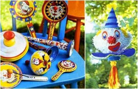 Uso de piñatas para animar una fiesta infantil