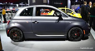Fiat 500 Abarth Tenebra