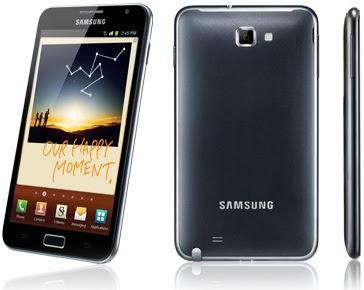 Samsung Galaxy Note celulares smartphones telefono