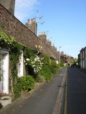 ケンブリッジの裏道