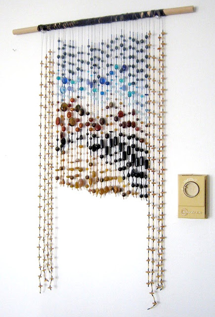 Egyptian Desert Beaded Wall Hanging
