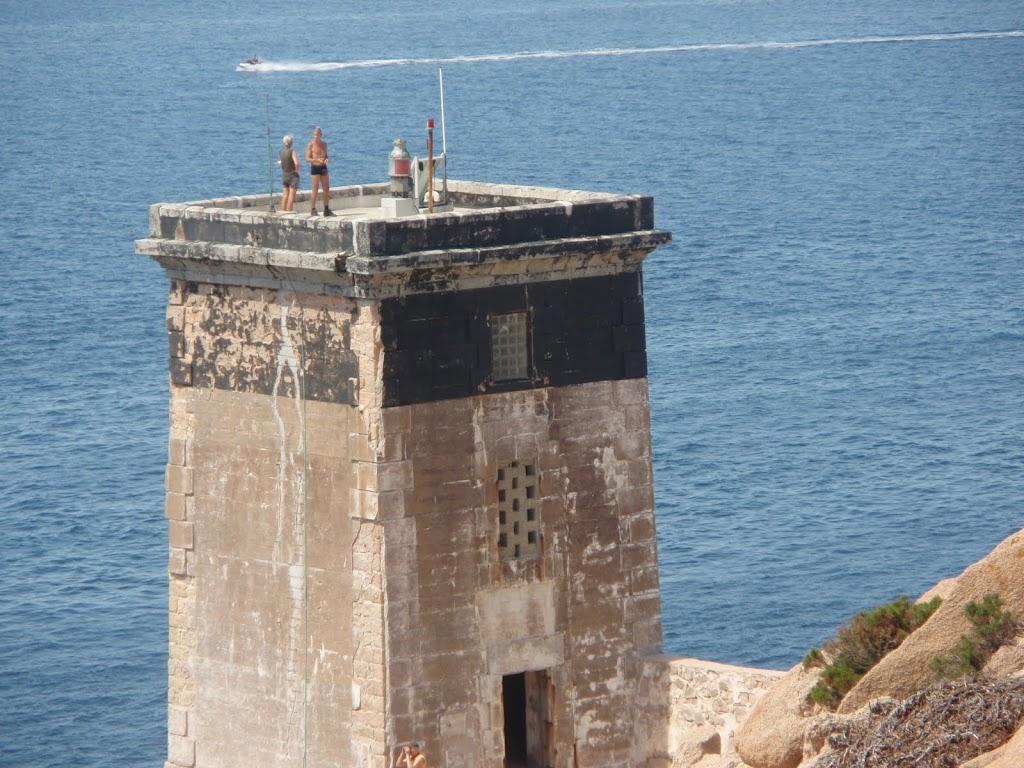 Visite du phare de Capu di Fenu)