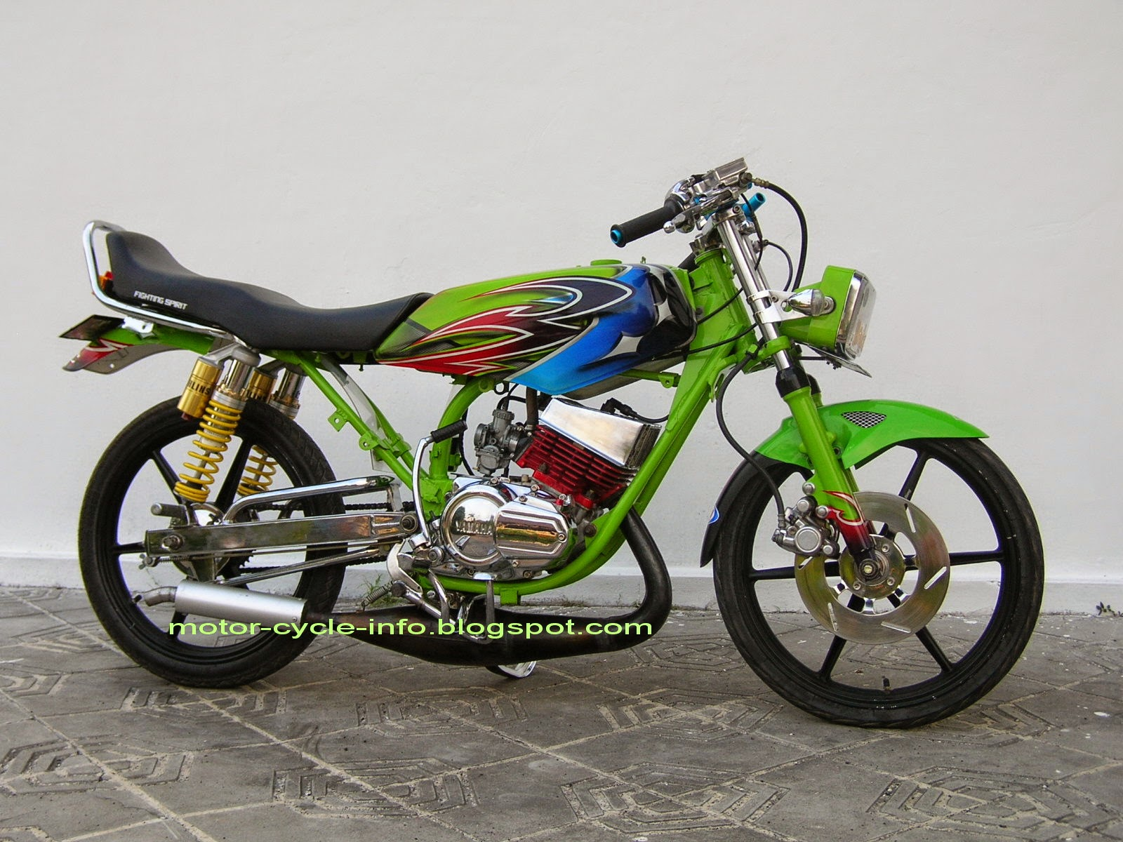 Modifikasi Revo 100cc Drag