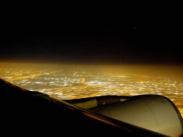 Leaving Dubai