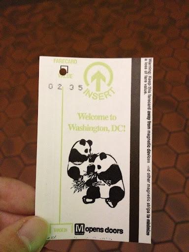 パンダの切符