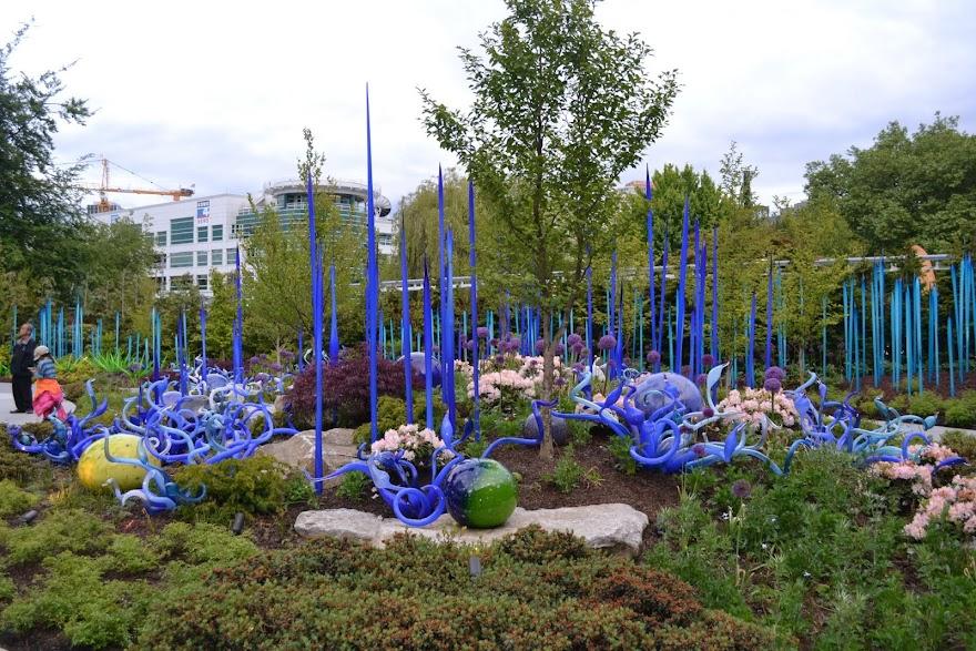 Стеклянные Сады Чихули, Сиэтл, Вашингтон (Chihuly Gardens and Glass, Seattle, WA)