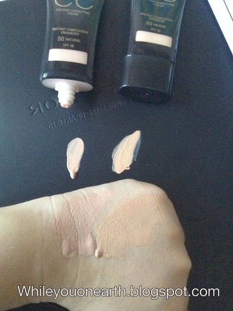 While you on earth..: Max Factor X CC Cream and Colour