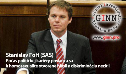 Stanislav Fořt, homosexuál v politike