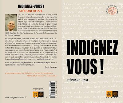 Imagen del libro Indignez Vous! en su edición original francesa