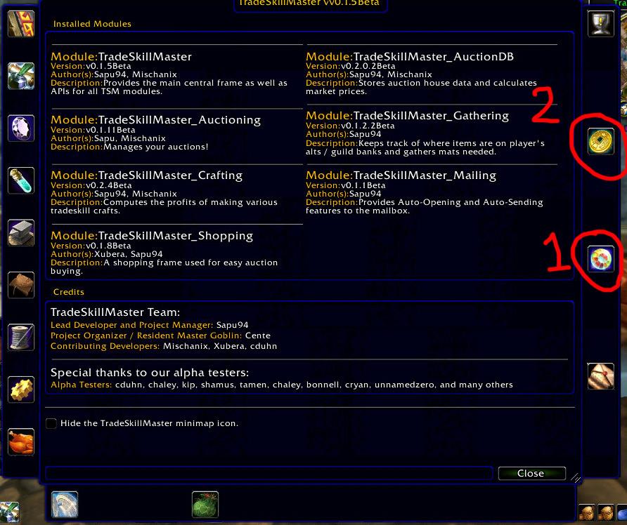 Auction House Addict: TSM - Basic Set Up Guide for Glyphs