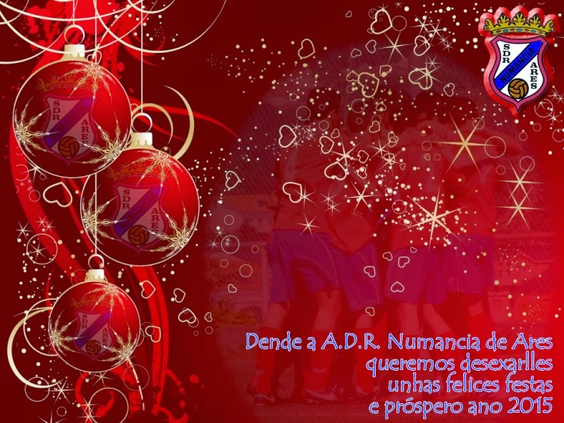 Numancia de Ares. Felices Festas.