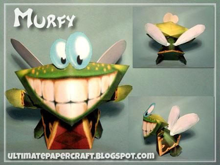 Rayman Murfy Papercraft