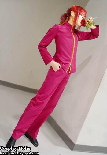 yu yu hakusho cosplay - minamino shuichi aka youko kurama