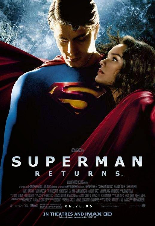 Poster Of Superman Returns (2006) Full Movie Hindi Dubbed Free Download Watch Online At Alldownloads4u.Com