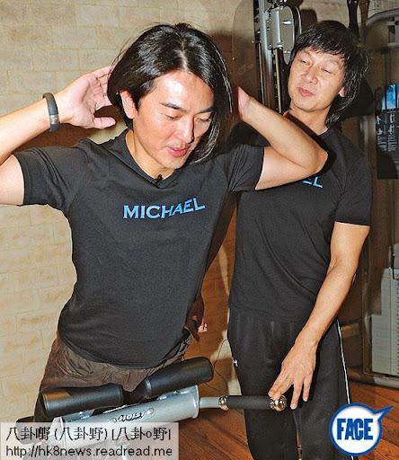 除咗阿葛之外,李克勤及古巨基等,開騷前都會搵 Michael操練, Michael絕對係星級教練!