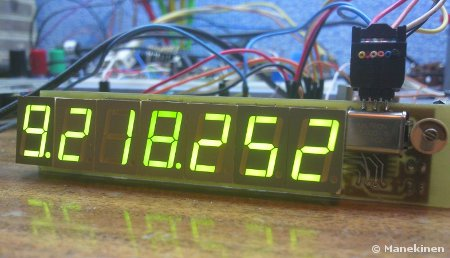 Frequency Meter using ATtiny2313