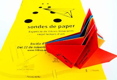 flyers avions paper exposició Sondes