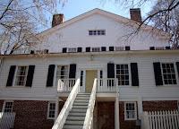 Bulloch Hall, rear