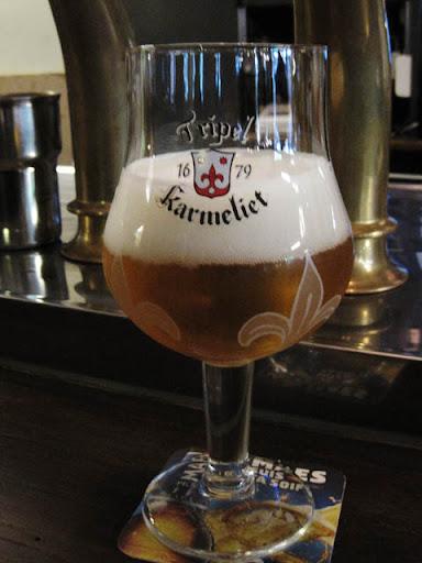 ベルギービール@カフェカフカ、ブリュッセル