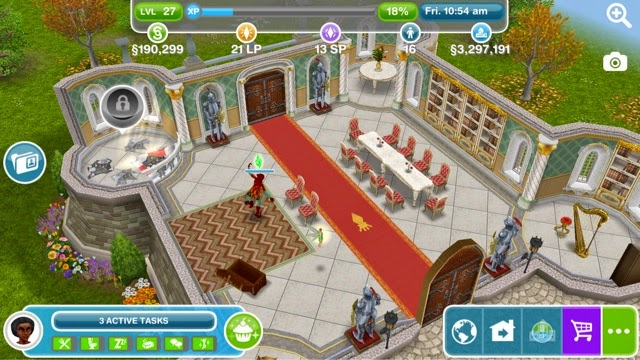Hairstyles Quest Sims Freeplay : Sims FreePlay Castle Northern Glade
