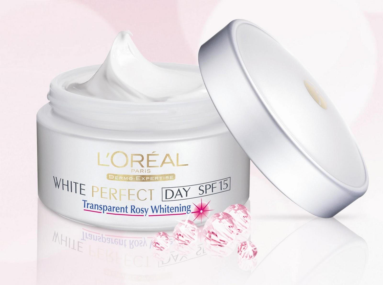 New - L'Oréal Paris New White Perfect – Transparent Rosy ...