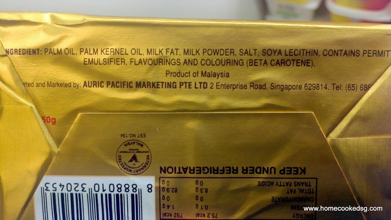 {focus_keyword} Buttercup Bukan Mentega - Beza Butter dan Sapuan Minyak Sawit buttercup