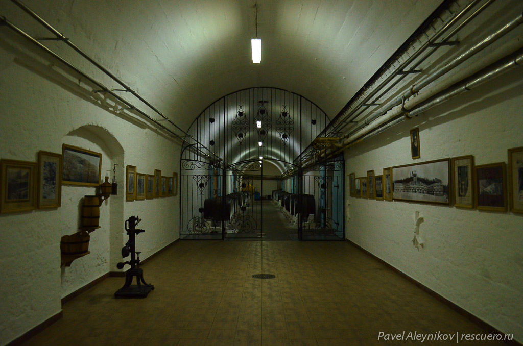 Галерея завода Массандра