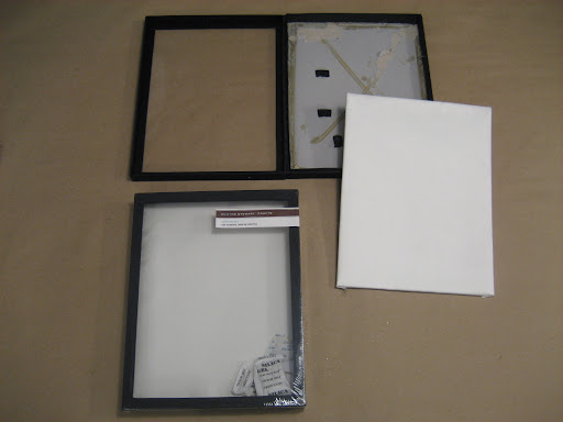 Discontinued M.S. Crafts shadow boxes