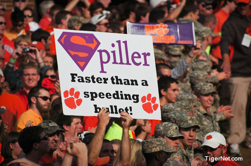 Clemson vs. Virginia Photos - 2009, C.J. Spiller, Fans, Football, Virginia