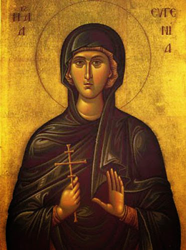 Eugenia The Righteous Nun Martyr Of Rome