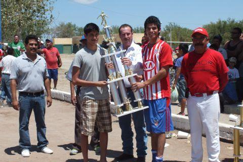 Antillanos, cuarto lugar en la Liga Municipal de Futbol Soccer