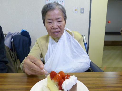 怪我をされたお姿が痛々しい松本さん