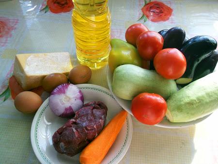 овощная запеканка в мультиварке ингредиенты