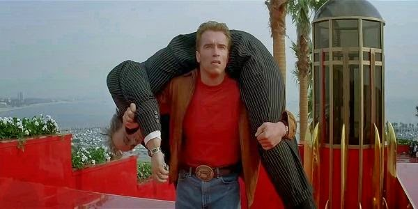 Screen Shot Of Hollywood Movie Last Action Hero (1993) In Hindi English Full Movie Free Download And Watch Online at alldownloads4u.com