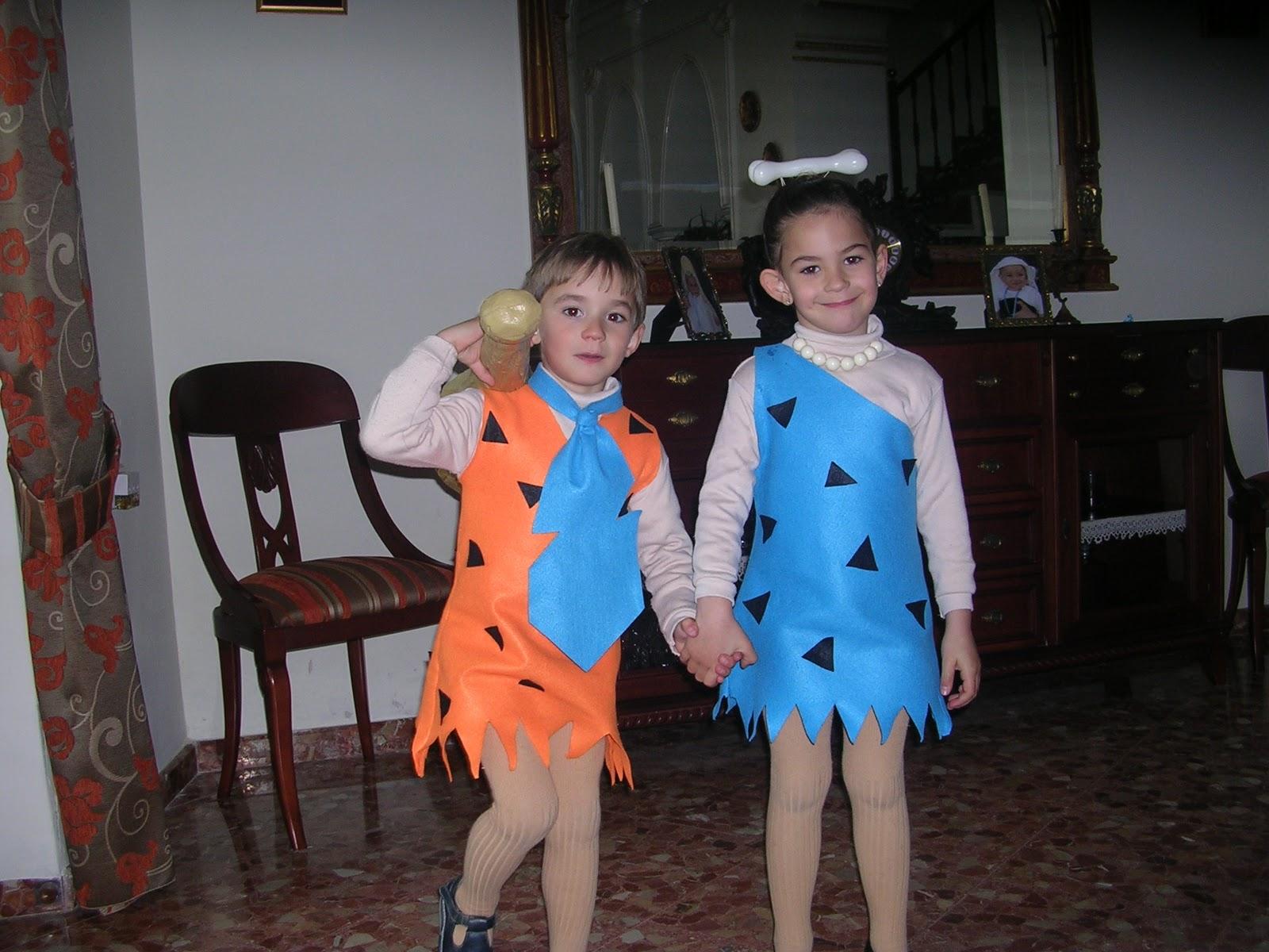 Con Aguja E Hilo Y Algo Mas Carnaval 2a Parte La Familia Picapiedra - Disfraz-familia-picapiedra