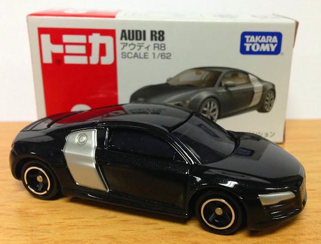 Xe Audi R8 màu đen thật xinh xắn và đẹp mắt