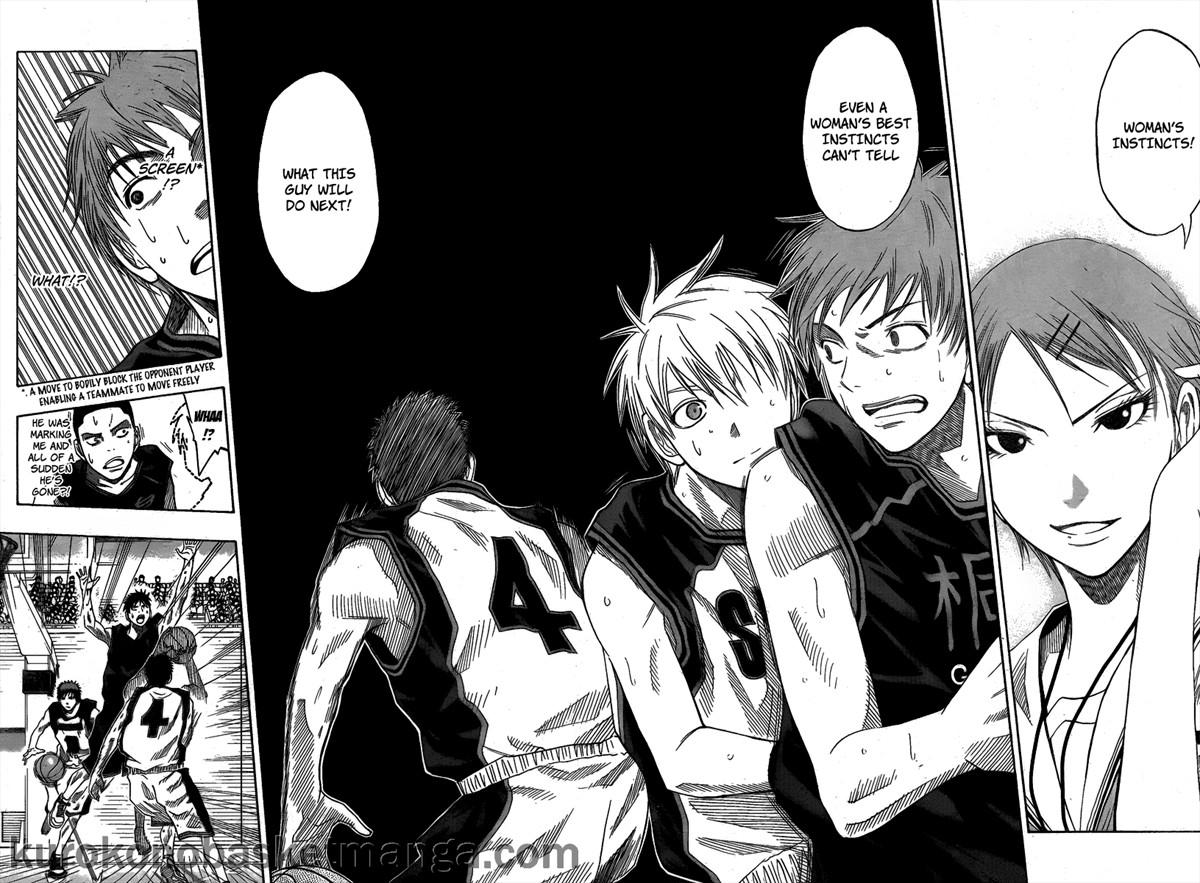 Kuroko no Basket Manga Chapter 44 - Image 16-17