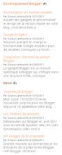 Gadget Messages récents par libellé