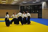2010 - Premier cours dans le nouveau dojo (04 Oct)