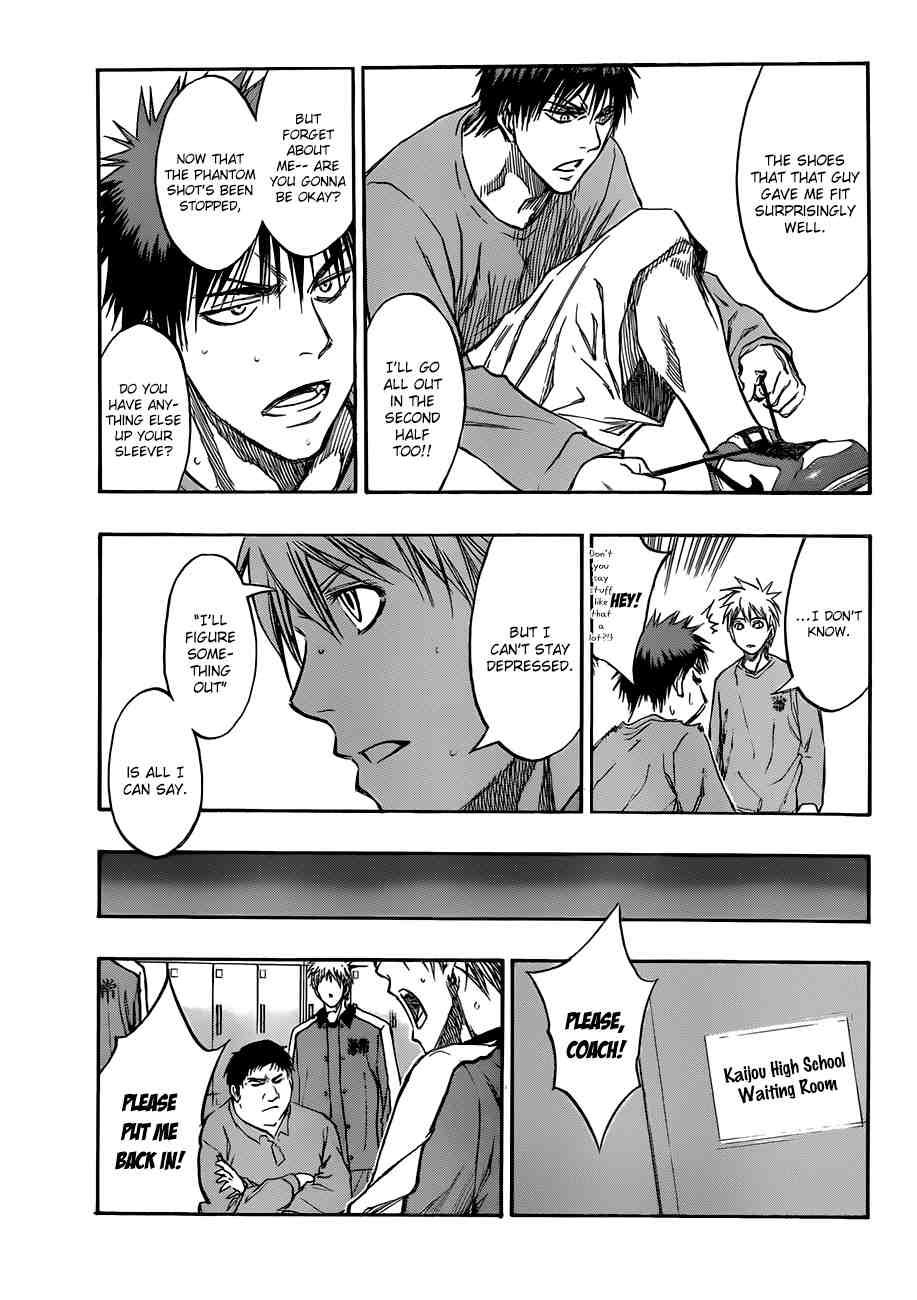 Kuroko no Basket Manga Chapter 192 - Image 11