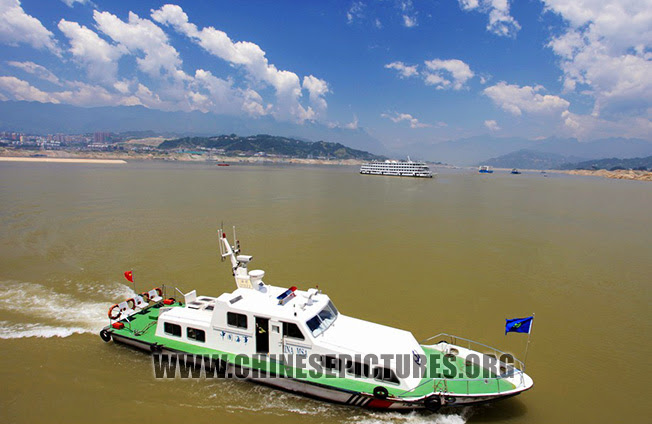 Three Gorges Dam Photo - Yangze River